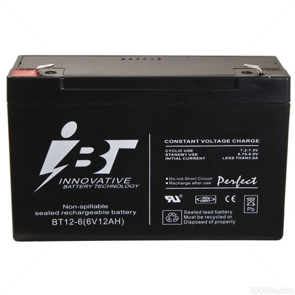 Exitronix 6V-SLA - Replacement Battery Image