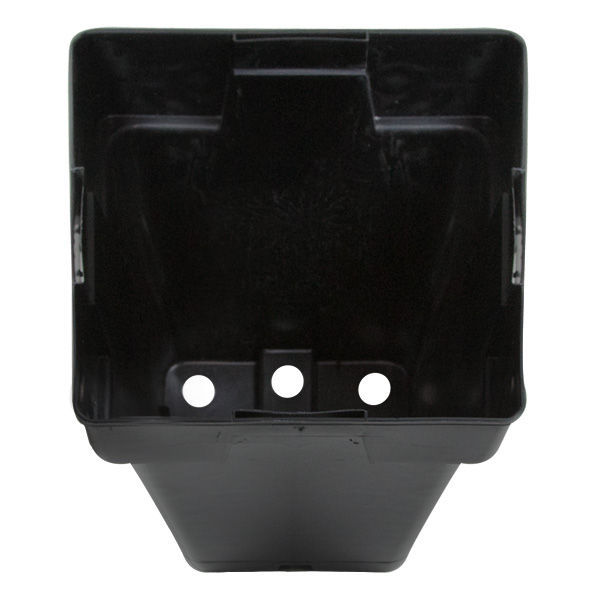 Plastic Planter - 5.5 in. Square x 5.5 in. Tall Container Image