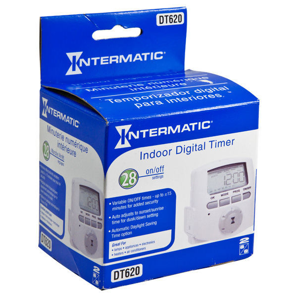 Intermatic DT620 - Heavy Duty Digital Plug-in Timer Image
