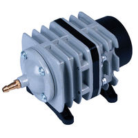 Commercial Air Pump with (6) Outlets - 45 L/min. - Accepts 1/4 in. Tubing - 20 Watt - 120 Volt - Active Aqua AAPA45L