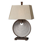 Uttermost 26434 - Metal Coil Table Lamp Image