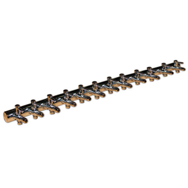 (12) Outlet Copper Air Divider - 3/16 in. Image