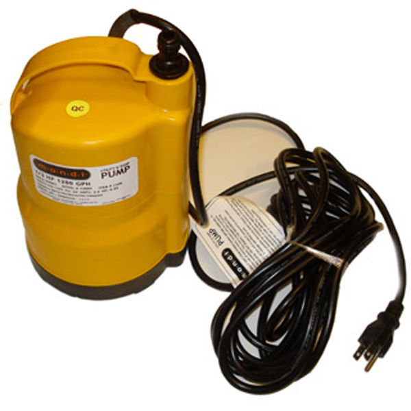 Utility and Sump Pump - 1200 Gal/Hr. Image