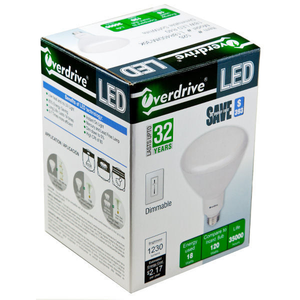 GCP 526 - Dimmable LED - 18 Watt - R40 Image