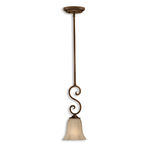 Uttermost 21862 - Frosted Glass Mini Pendant Image