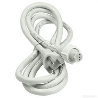1/2 in. - Incandescent - Chasing Rope Light Power Cord - Length 5 ft. - 3 Wire - Signature 13MM-3W-PC5