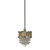Uttermost 21964 - Champagne Crystal Mini Pendant