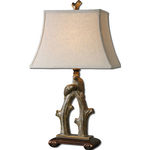 Uttermost 27416 - Twisted Tree with Birds Table Lamp Image
