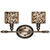 Uttermost 22862 - Cheetah Print Vanity Light