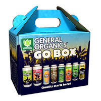General Organics - Go Box Starter Kit - Organic Nutrient Solutions - General Hydroponics GH5100