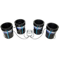 5 Gal. - Root Spa - 4 Bucket System - Deep Water Culture - HydroFarm RS5GAL4SYS