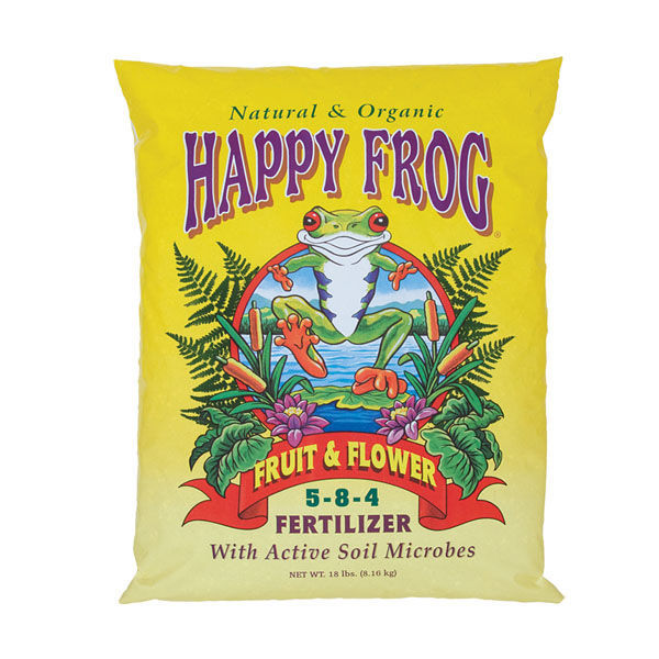 18 lbs. - Happy Frog - Fruit and Flower Fertilizer Image