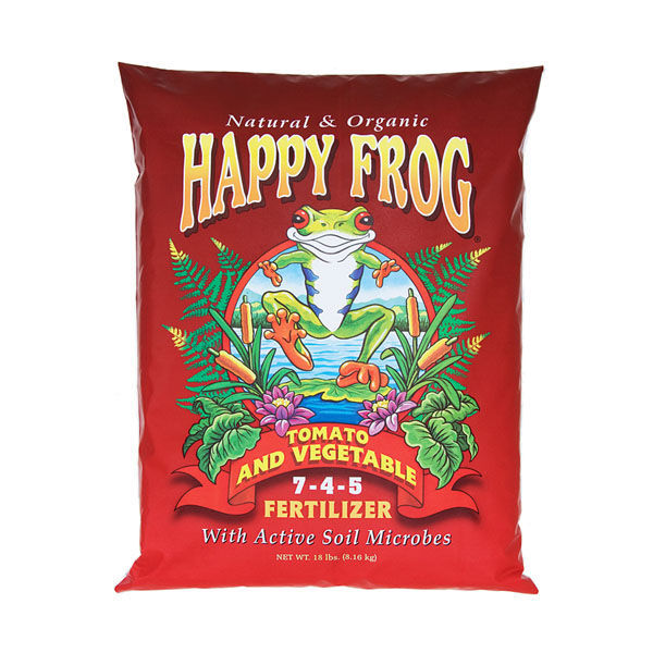 18 lbs. - Happy Frog - Tomato and Vegetable Fertilizer Image