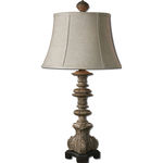 Uttermost 27435 - Carved Table Lamp Image