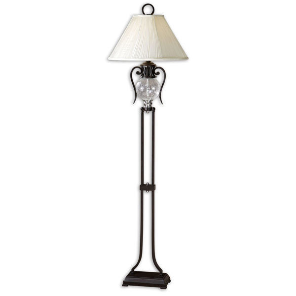 Uttermost 28580 - Crackled Glass Floor Lamp Image