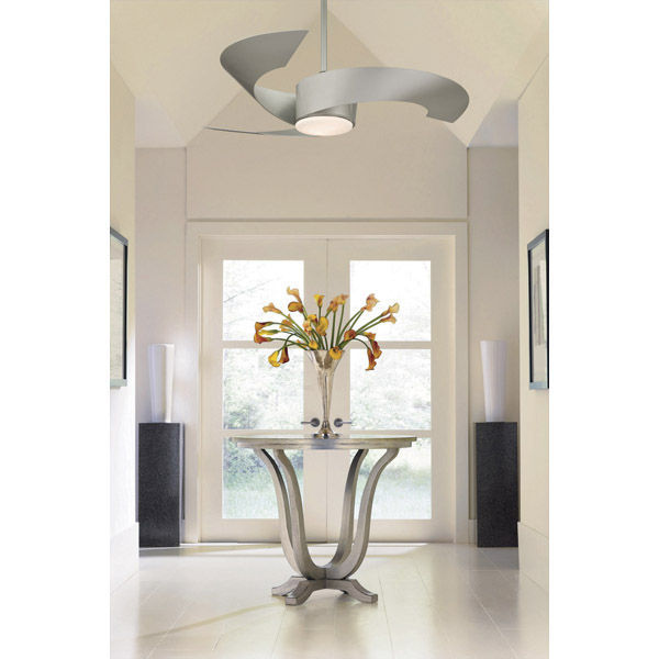 Foyer Ceiling Fan Light : Fanimation fp mg in torto ceiling fan