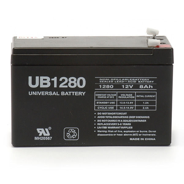 12 Volt - 8 Ah Capacity - AGM Battery Image