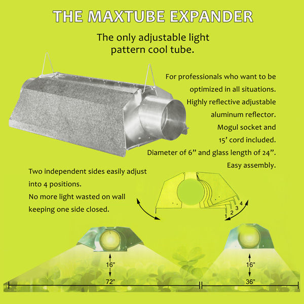 Max Tube Expander 24 in. Reflector with 6 in. Flanges Image