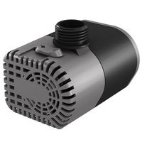 Submersible Water Pump - 160 Gal/Hr - 1/2 in. Fitting - 10 ft. Power Cord - 9.5 Watts - 120 Volt - Active Aqua AAPW160