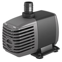 Submersible Water Pump - 400 Gal/Hr - 1/2 and 3/4 in. Fittings - 6 ft. Power Cord - 24 Watts - 120 Volt - Active Aqua AAPW400