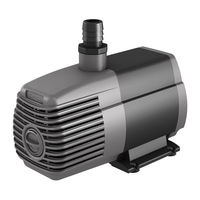 Submersible Water Pump - 1000 Gal/Hr - 1/2, 3/4, and 1 in. Fittings - 10 ft. Power Cord - 92 Watts - 120 Volt - Active Aqua AAPW1000
