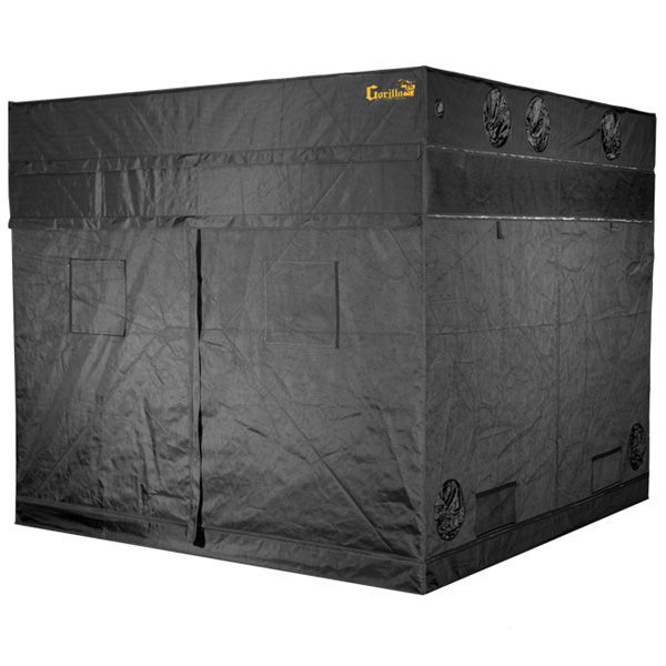 144 x 144 x 83 in. - Gorilla Grow Tent Image
