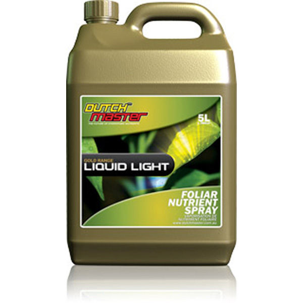 Gold Liquid Light - 5 Liter Image