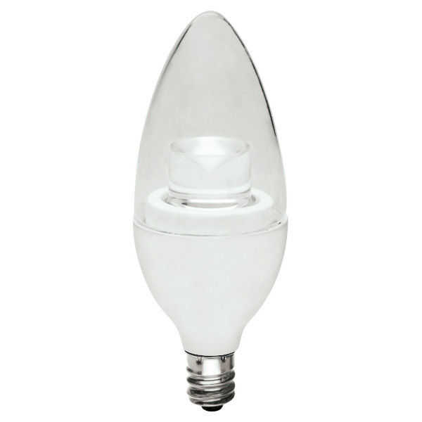 LED - 3.5 Watt - Clear Straight Tip Torpedo - 20 Watt Equal Image