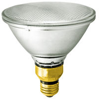 60 Watt - PAR38 - 75 Watt Equivalent - Narrow Flood - Halogen - 1500 Life Hours - 1090 Lumens - 120 Volt