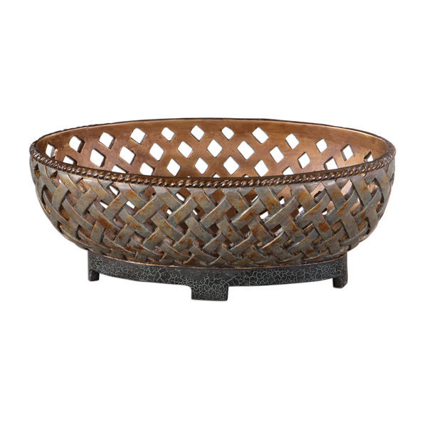 Uttermost 19539 - Lattice Decorative Bowl Image