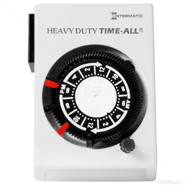Intermatic HB112 -24 Hour Heavy Duty Analog Timer Image