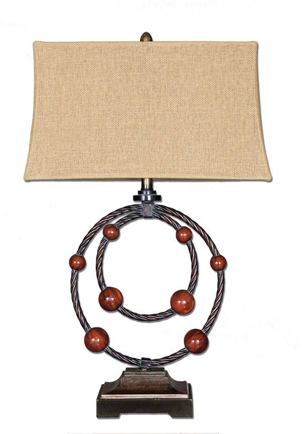 Uttermost 27462 - Twisted Metal Table Lamp Image