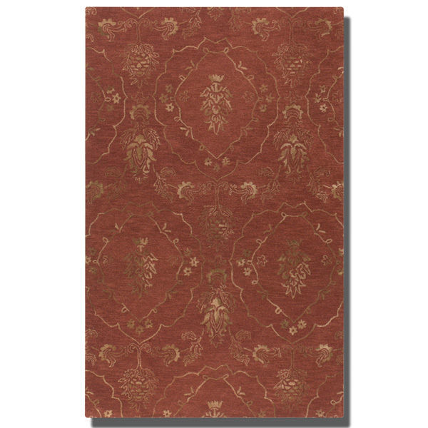 Uttermost 73044-5 - Crimson Wool Rug - 5 ft. x 8 ft. Image