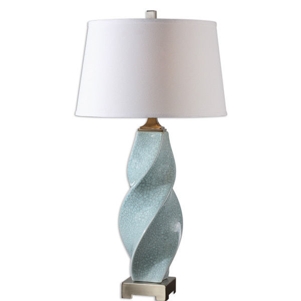 Uttermost 26496 - Twisted Ceramic Buffet Lamp Image