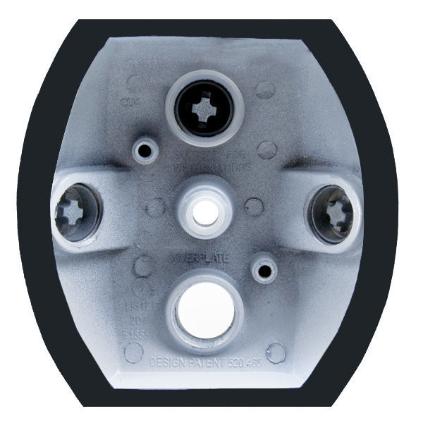 RAB CU4W - Die Cast Sensors and Floodlights Mounting Plate Image
