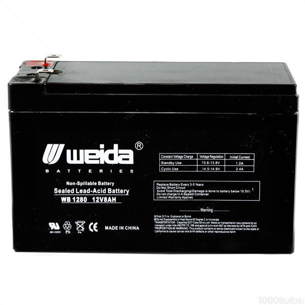 12 Volt - 8 Ah - AGM Battery Image