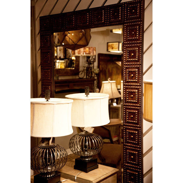Uttermost 13646 - Hammered Metal Wall Mirror Image