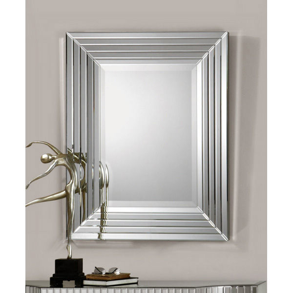 Uttermost 08081 - Stair Stepped Wall Mirror Image