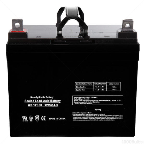 12 Volt - 35 Ah - AGM Battery Image