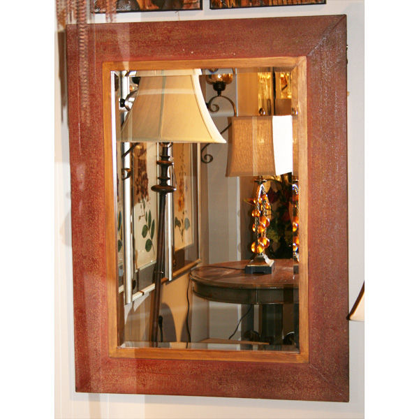 Uttermost 13831 - Distressed Wall Mirror Image