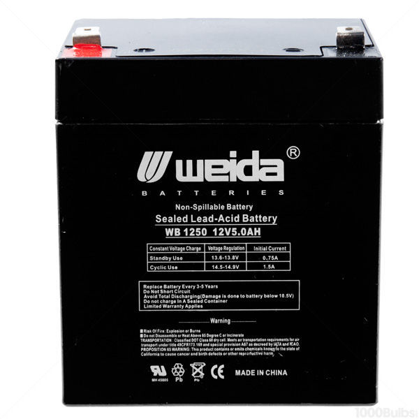 12 Volt - 5 Ah - AGM Battery Image