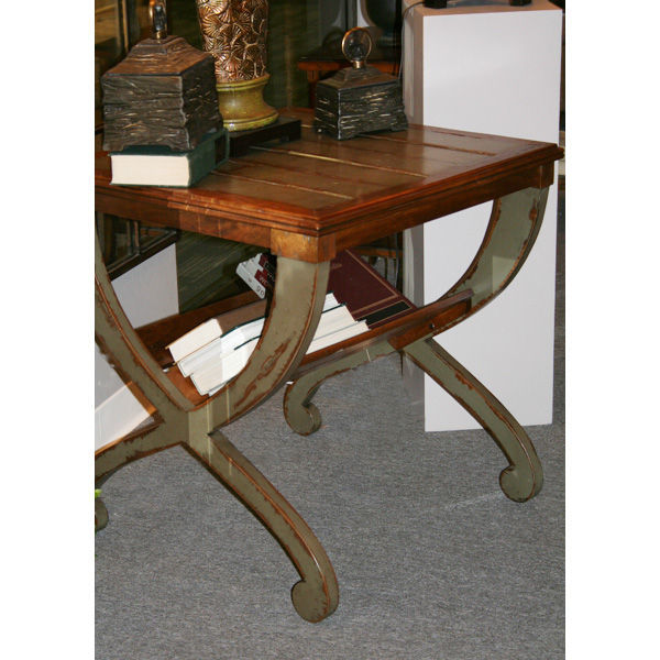 Uttermost 25587 - Mango Wood and Mindi Veneer End Table Image