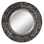 Uttermost 11587 B - Woven Metal Wall Mirror Image
