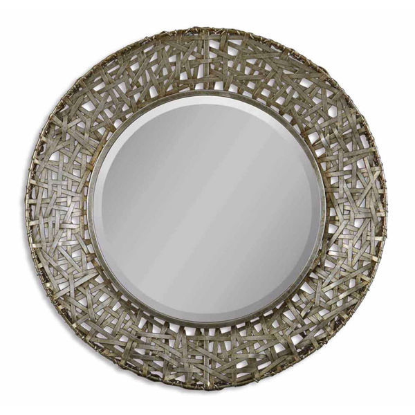 Uttermost 11603 B - Woven Metal Wall Mirror Image