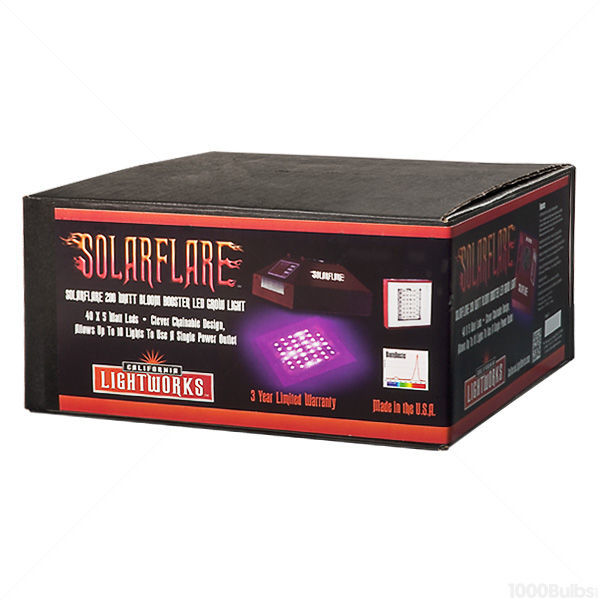 SolarFlare BloomBooster 220 LED Grow Light Image