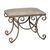 Uttermost 24239 - Small Crocodile Embossed Bench