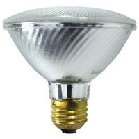 60 Watt - PAR30 - 75 Watt Equivalent - Flood - Halogen - 2,000 Life Hours - 1070 Lumens - 120 Volt