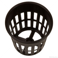 2 in. Plastic Net Cup - Round Plant Container - Hydrofarm HG2NETCUP
