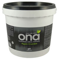 1 gal. - Ona Gel Pail - Apple Crumble - Use with Breeze Dispenser - Odor Neutralizer - ON10092