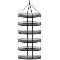 HydroFarm - Stack!T Drying Rack - Xtra Large - 36 in. Diameter - DR36CLIP
